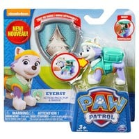 Paw Patrol Action Pack Pup and Badge - Everest