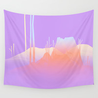 Landscape Study 02 Wall Tapestry by Timothy J. Reynolds