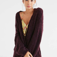 Ecote Elena Fluffy Cardigan | Urban Outfitters