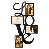 Burnes 4-Opening Venetian Copper Love Frame