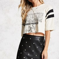 Star Studded Mini Skirt