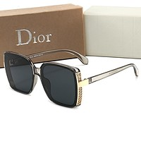 DIOR Popular Women Men Stylish Summer Sun Shades Eyeglasses Glasses Sunglasses