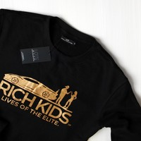 Lives of The Elite - LOTE Black Crewneck