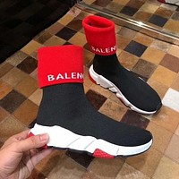 Balenciaga Knitted wool hose, socks and boots