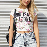 Iconic Floral Crop Top   FOREVER21 - 2000107603