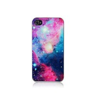S9Q Nebula Galaxy Space Universe Vintage Retro Snap On Hard Case Cover Back Skin Protector For Apple iPhone 5C Style C