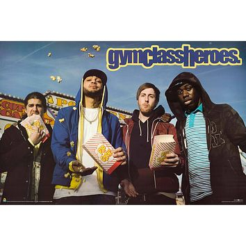 """Poster: Gym Class Heroes - Popcorn  (24""""x36"""")"""