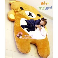 NEW Giant 210cm Bear Sofa Bed Sleeping Pad Large Christmas Gift Totoro Bed