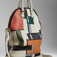 The Small St Ives in Hand-Painted Leather