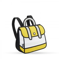 Yellow Stripe Backpack   JumpFromPaper ®