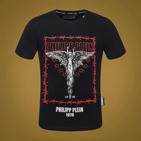 PHILIPP PLEIN T-Shirt Top Tee-19