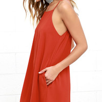 Clarion Call Red Dress