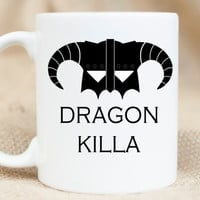 Dragon Killer Mug - Gamer Nerdy Mug