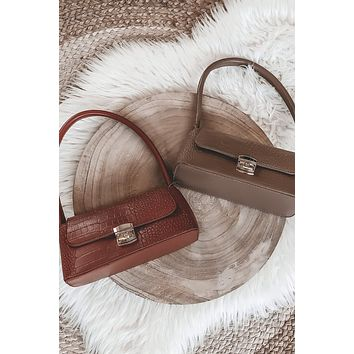 High Society Over The Shoulder Purse