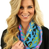 Romping in the Rain Forest Scarf