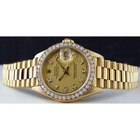 ROLEX Trending Women Diamond Fashion Watch I