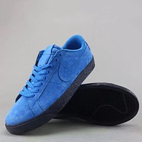 Trendsetter Nike Sb Blazer Zoom Low  Fashion Casual  Low-Top Old Skool Shoes