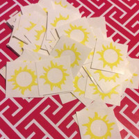Sun Tanning Bed Stickers