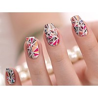 Shattered Nail Wraps