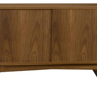 Elite Two Walnut Credenza
