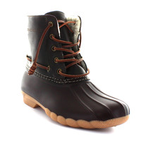 Speyside Brown Duck Boot