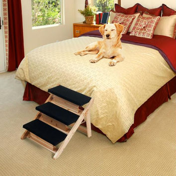 PAW Folding 2-in-1 Pet Ramp & Stairs for Dogs and Cats