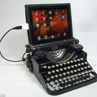 Who needs a keyboard when you can plug a typewriter into your computer | Mail Online
