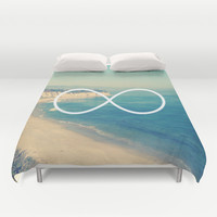 Forever Summer California Infinity Duvet Cover by RexLambo | Society6