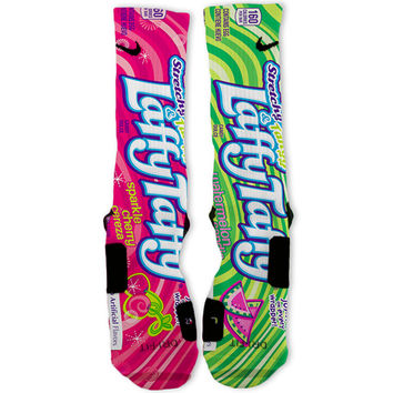 Laffy Taffy Custom Nike Elite Socks