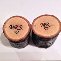 Personalized Jewelry Box , Wood Ring Box , Mr and Mrs Couple Jewelry Box , Wedding Ring Box , Ring Bearer