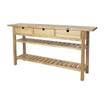 NORDEN Occasional table, birch - IKEA
