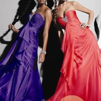Strapless Sweetheart Gown by Studio 17
