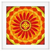 Art.com - Floral Mandala Drawing Sacred