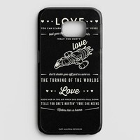 Firefly Serenity Quotes Samsung Galaxy Note 8 Case