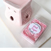 Pink Sugar Soy Wax Tarts - Set