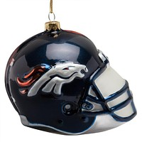 Denver Broncos - Glass Helmet Ornament