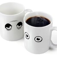 Fred and Friends WAKE-UP CUP Heat-Sensitive Color Changing Mug