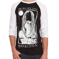 Bring Me The Horizon Girl Raglan T-Shirt | Hot Topic