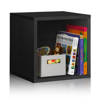 Stackable Vinyl Record Storage and Record Album Storage Black by Way Basics - Fits 65 to 70 records