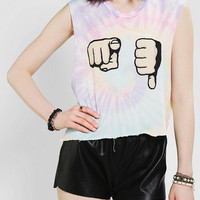 Urban Outfitters - UNIF U Suck Cropped Muscle Tee