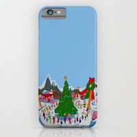 maybe Christmas doesn't come from a store, maybe, perhaps it's a little bit more iPhone & iPod Case by Studiomarshallarts