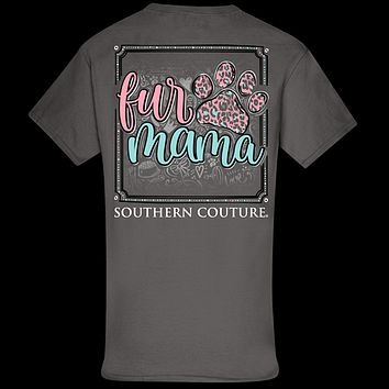 Southern Couture Classic Fur Mama Paw T-Shirt
