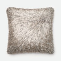 Loloi Silver Decorative Throw Pillow (P0245)
