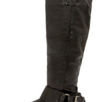 Rider 16 Black Belted Riding Boots
