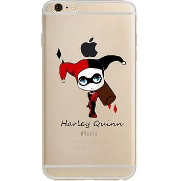 "Harley Quinn Jelly Clear Case for Apple iPhone 6/6s PLUS (5.5"")"