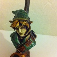 Handmade Link from The Legend of Zelda Tobacco Pipe