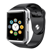 Smartwatch A1 Smart Watch Bluetooth Clock Sync Notifier Camera Support SIM TF Card for Apple iphone Android Phone PK DZ09 GT08