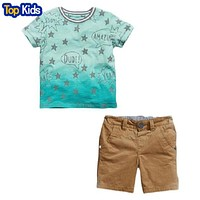 kids clothes boys sets summer children clothing sets baby boys star t shirt shorts children clothing