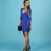 Sale-royal Its A Wrap Dress