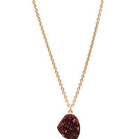 Down-To-Earth Pendant Necklace